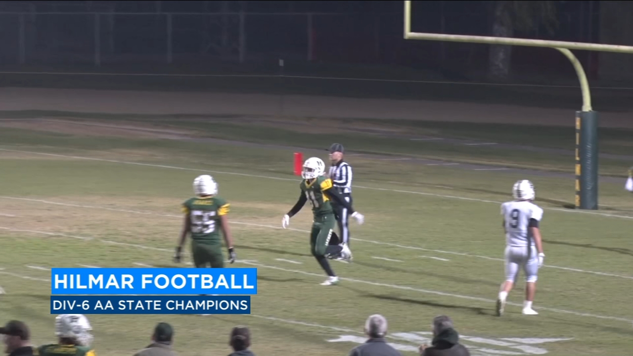 For the first time in school history the Hilmar Football team are the State Champions.