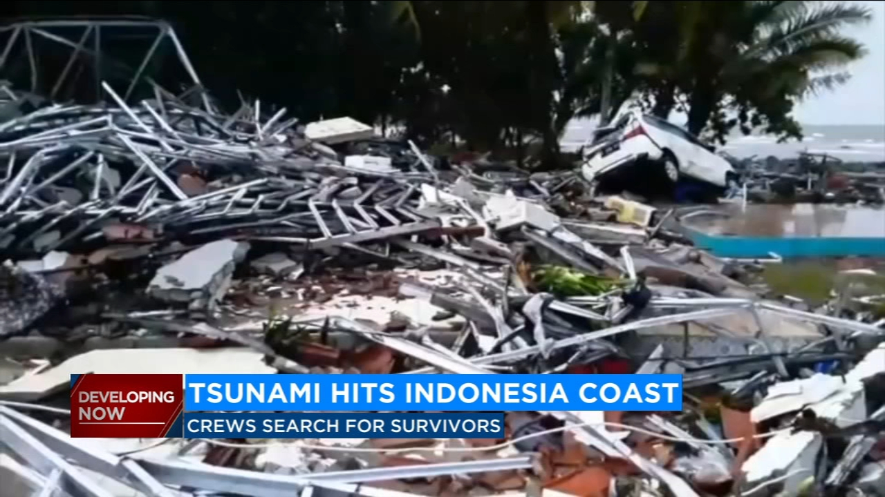 Indonesia tsunami: At least 222 killed, more than 800 missing