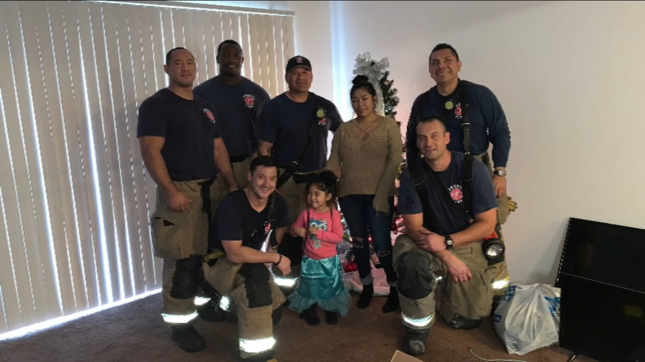HOLIDAY HEROES: Fire crews rescue mother and daughter, save Christmas