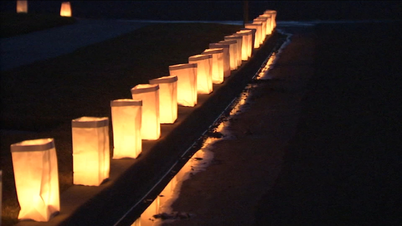 A unique Christmas Eve tradition shines bright in Fresno with the Ellery Way Luminaries