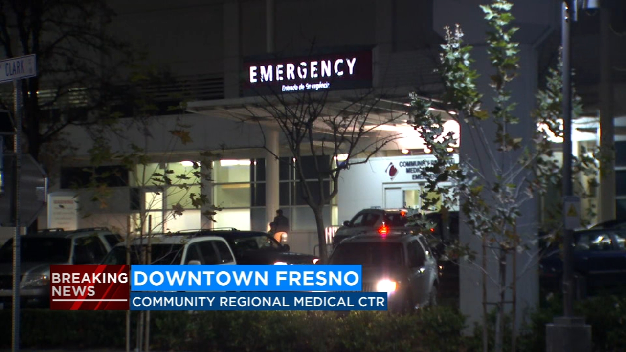 Two men arrive at hospital with gunshot wounds; Fresno police investigate
