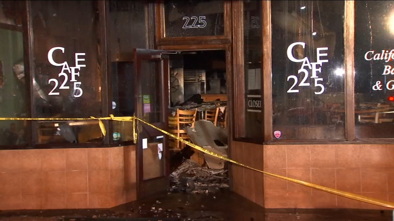 Several businesses damaged in 3-alarm fire in Downtown Visalia