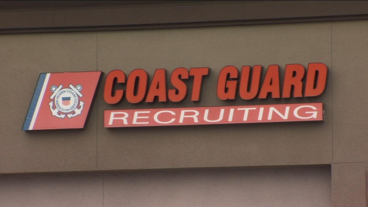U.S Coast Guard employees receive emergency check amid continuing shutdown
