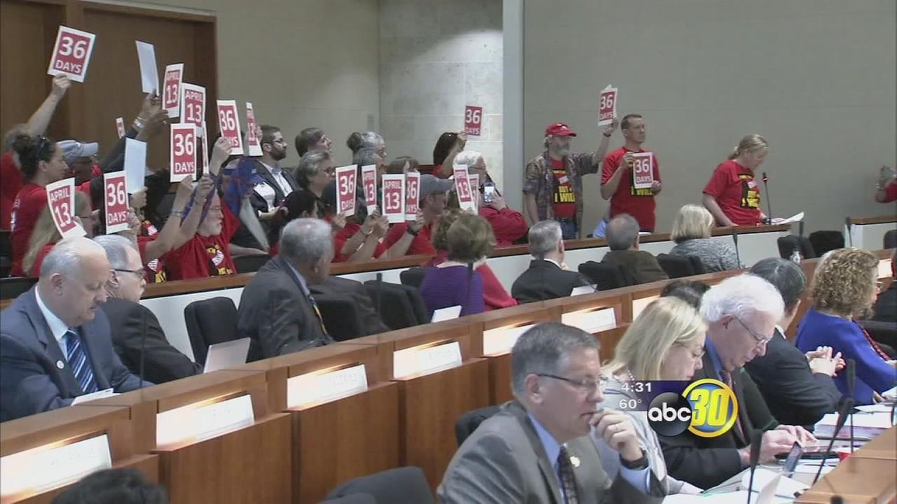Fresno State faculty prepare to strike, students worried it will impact graduation
