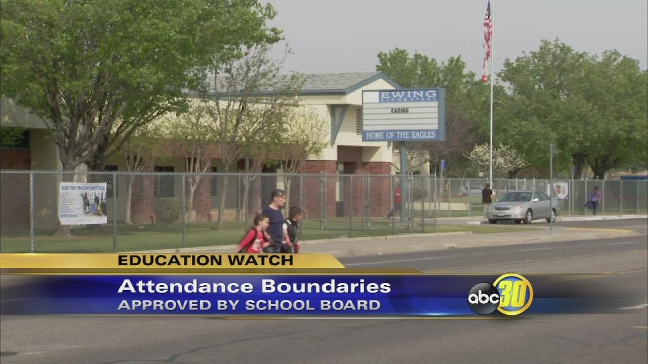 Fresno Unified School Board approves attendance boundaries for two campuses in Fresno