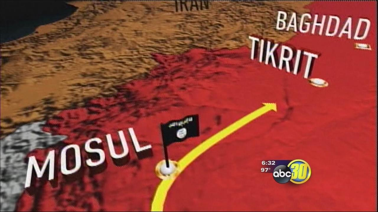 Valley residents react to situation in Iraq