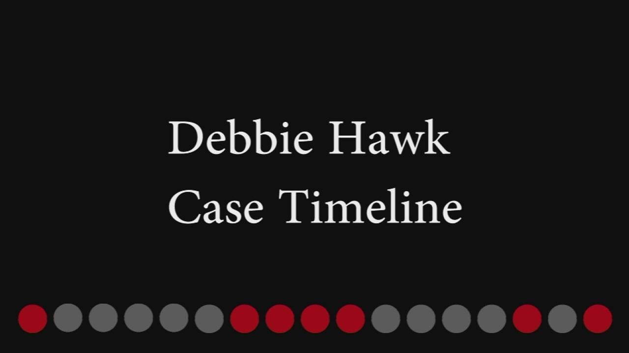 Debbie Hawk Case Timeline