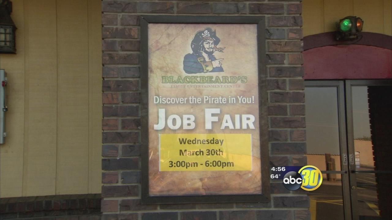 Seasonal jobs start to spring up in Fresno County