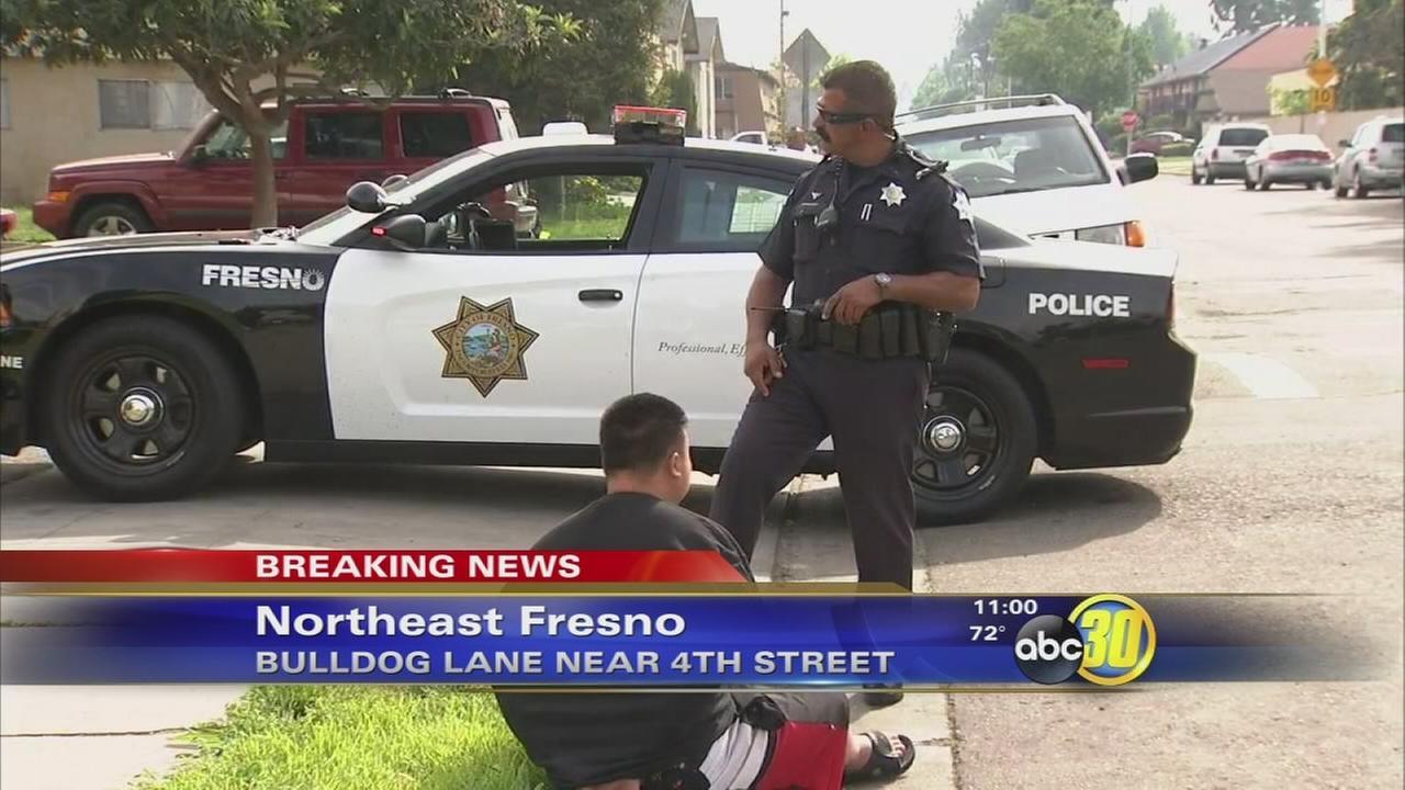 Guns, drugs found in and around childs crib in Fresno