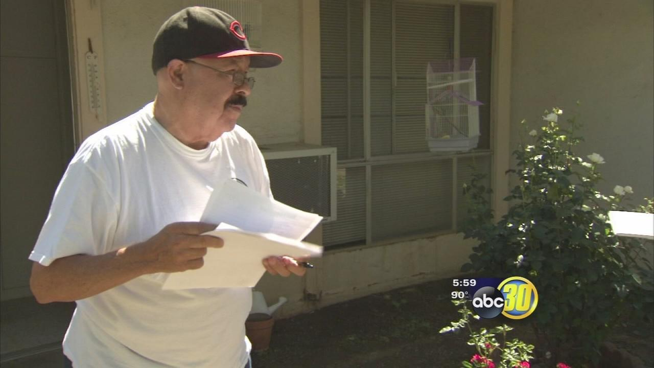 Resident of senior citizens complex claims complaints about bed bugs lead to  his eviction