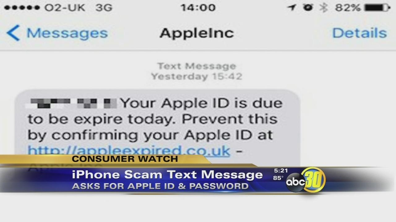 Experts warning of new scam that tries to trick iPhone users into handing over information