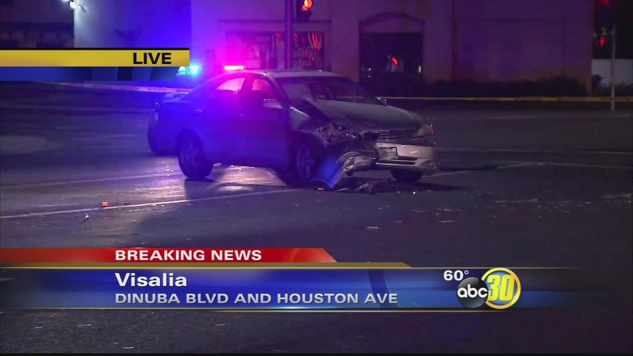 Pursuit in Visalia ends in Deputy involved shooting