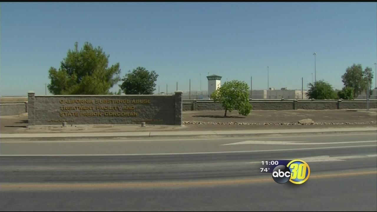 Corcoran correctional officer injured after weapon malfunction