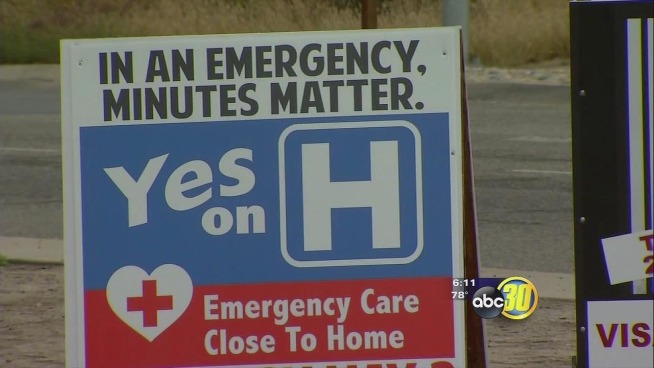 Tulare County voters vote against bond measure that would help finance new hospital building