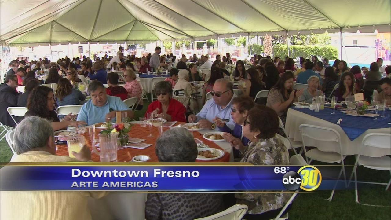 Fresno moms honored at Arte Americas
