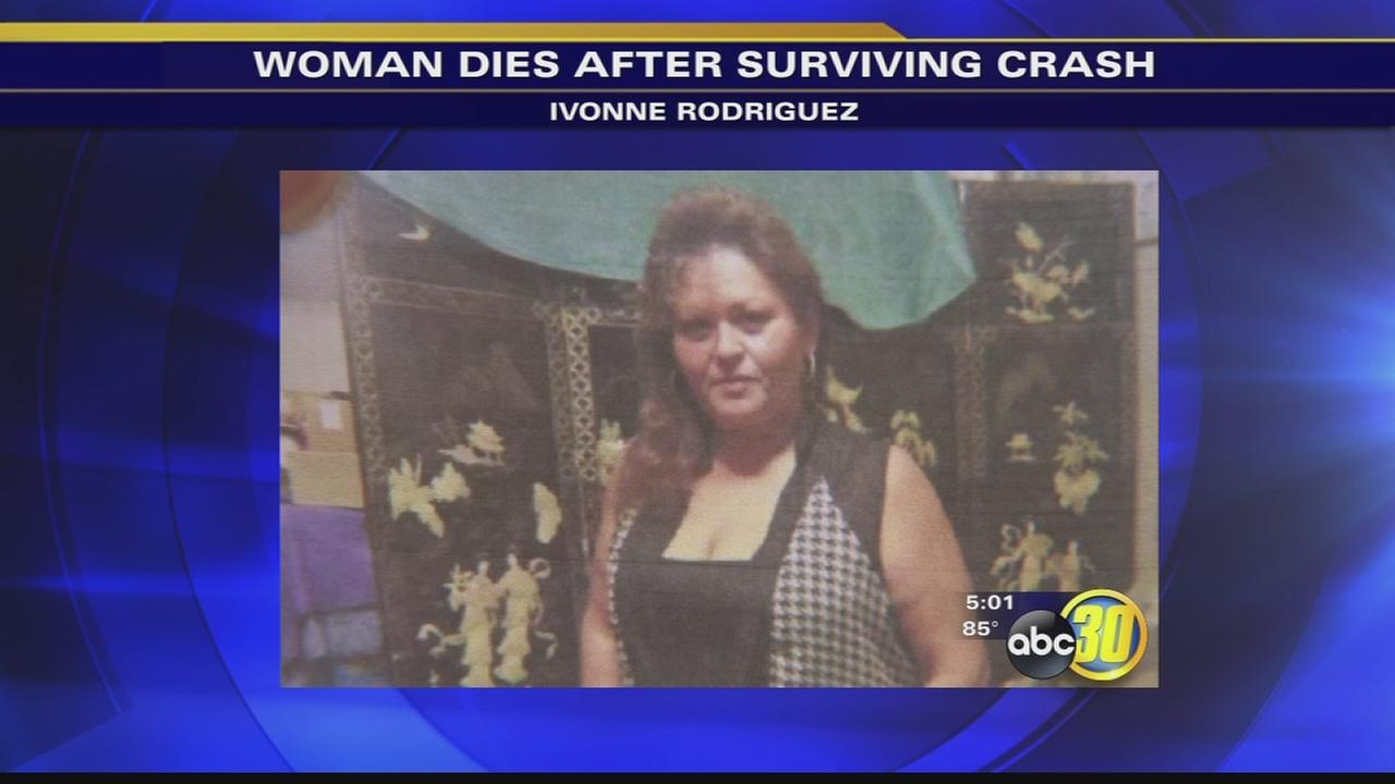 Woman killed after surviving Hwy 99 accident in Madera County