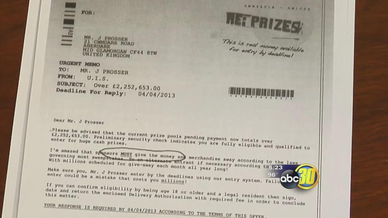Safe from Scams: lottery scam targets senior citizens