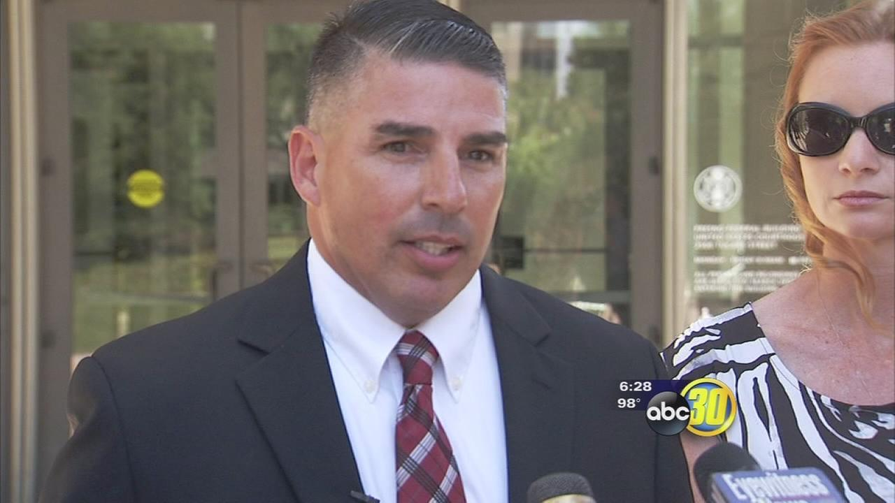 Former Bakersfield police officer pleads guilty to bribery and other charges, apologizes for actions