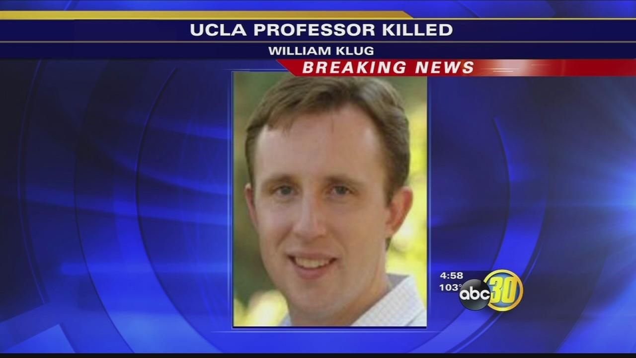 Authorities identify UCLA shooting victim as professor