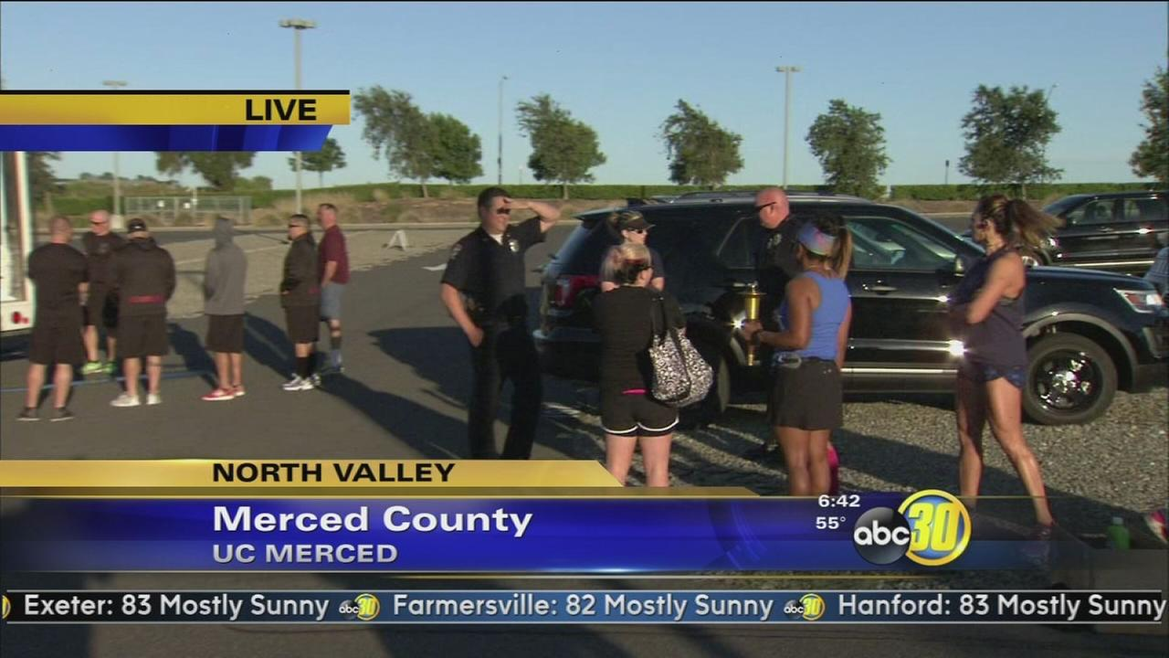 Merceds finest are lacing up for a good cause