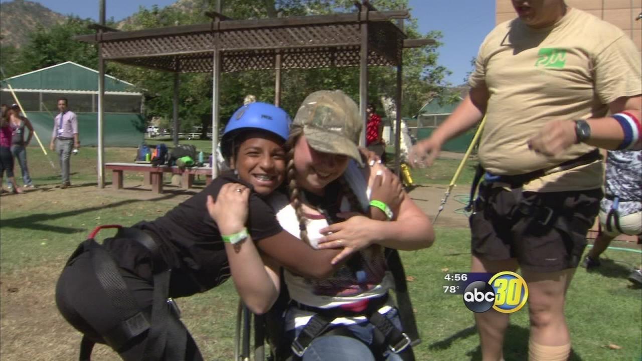 Kids flock to Sanger Champ Camp
