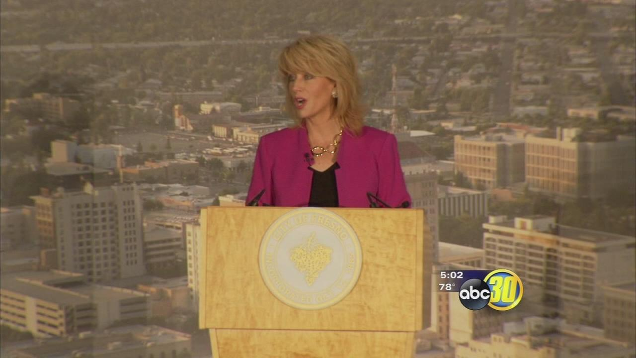 Fresno mayor Ashley Swearengin delivers final State of the City address