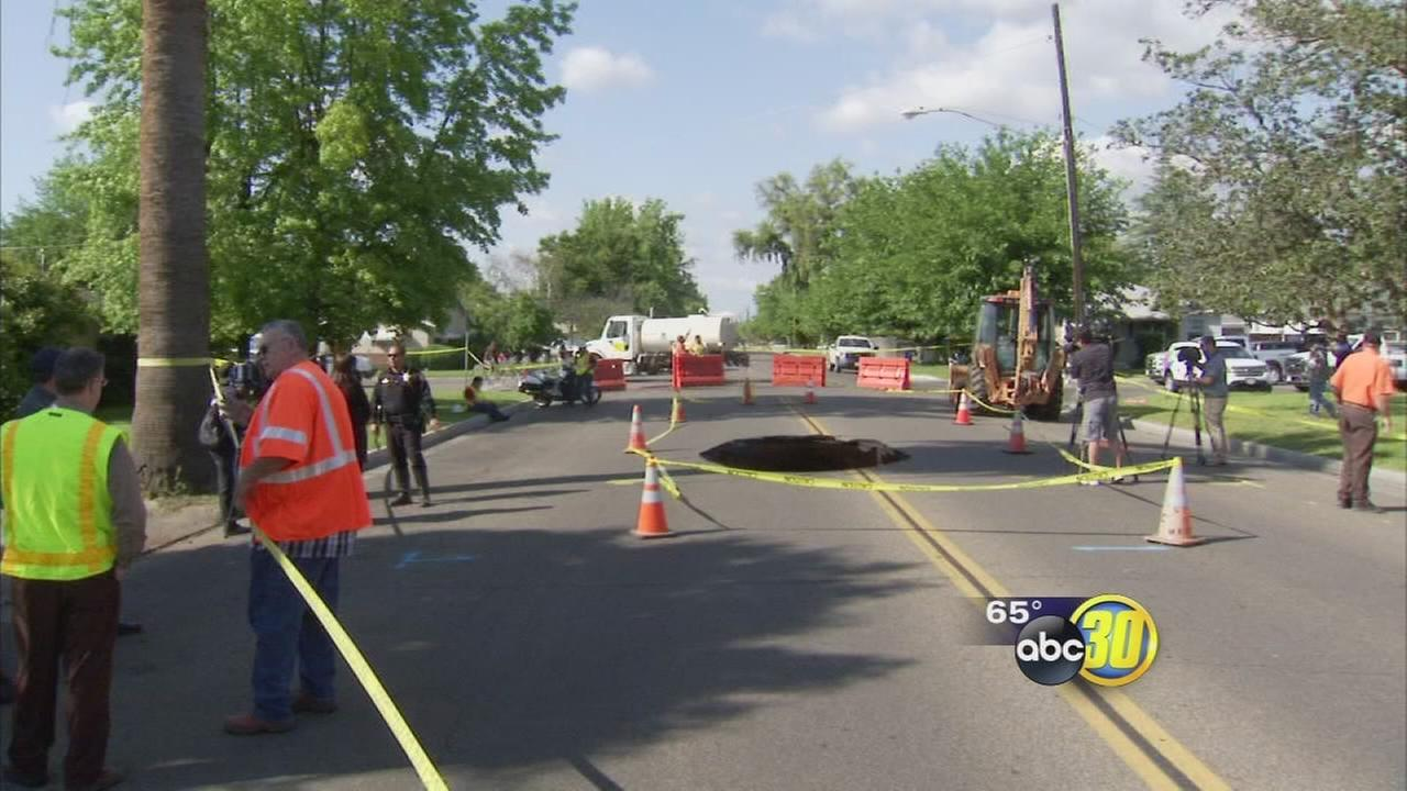 Madera leaders approve emergency measure to address sinkhole problem