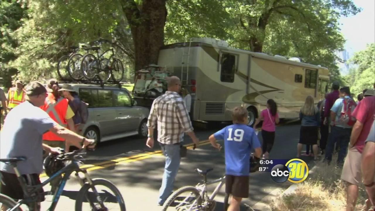 Presidents Yosemite speech causes chaos in the park