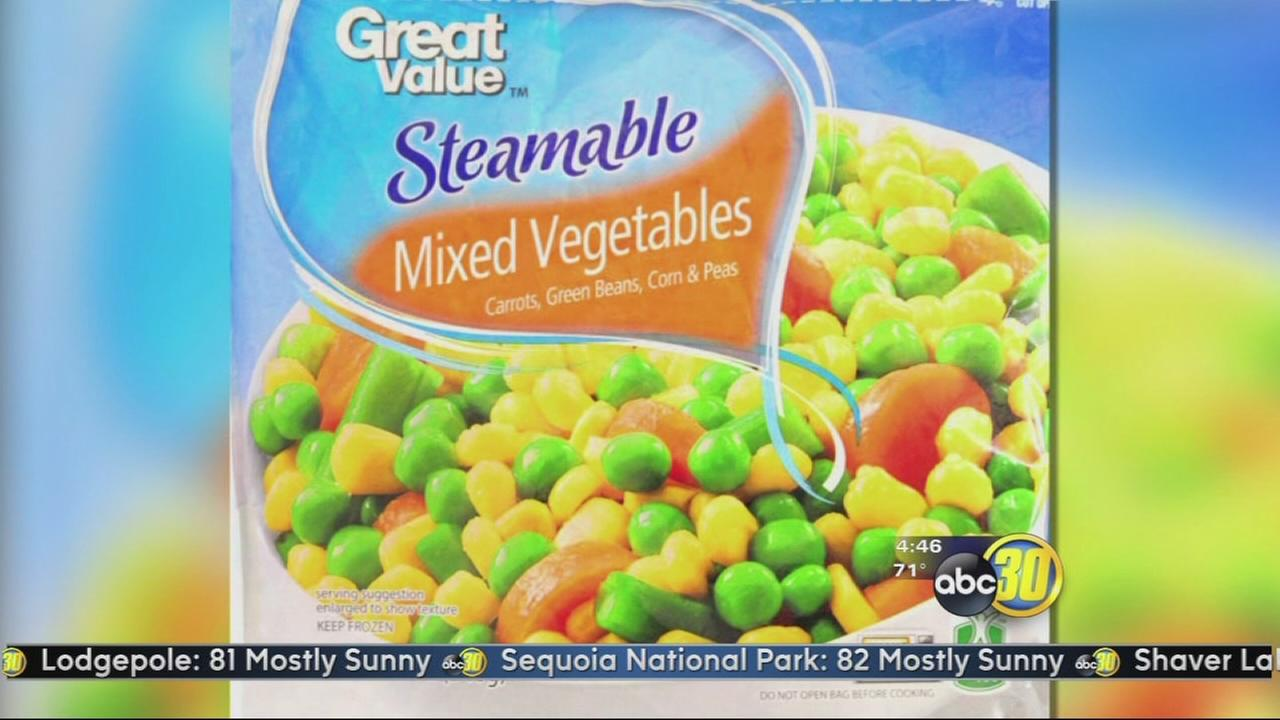 Frozen vegetables recalled for possible listeria contamination