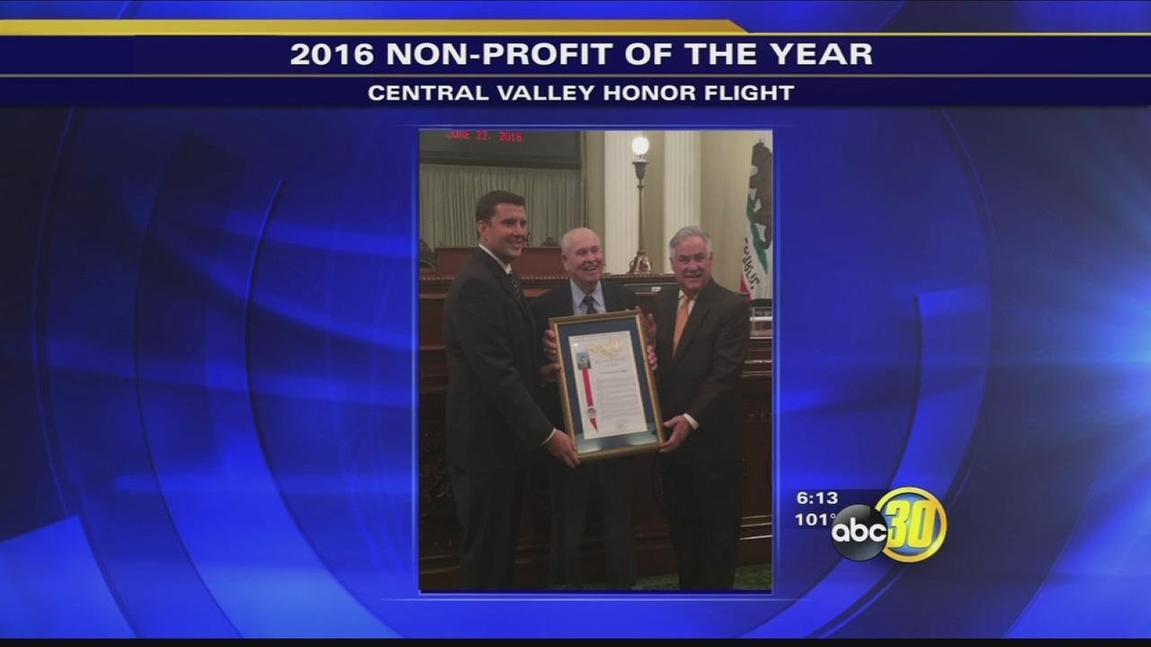 Central Valley Honor Flight named Non-Profit of the Year
