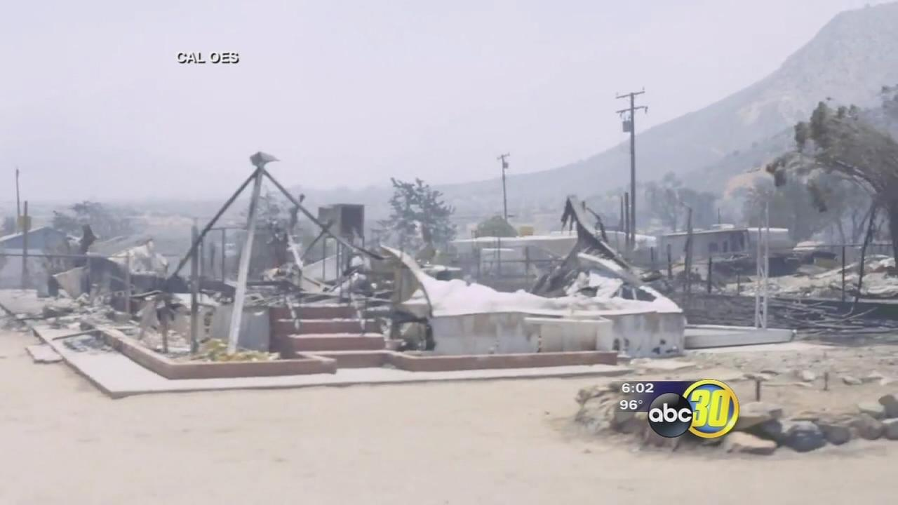Remains discovered in South Lake neighborhood burned by Erskine Fire