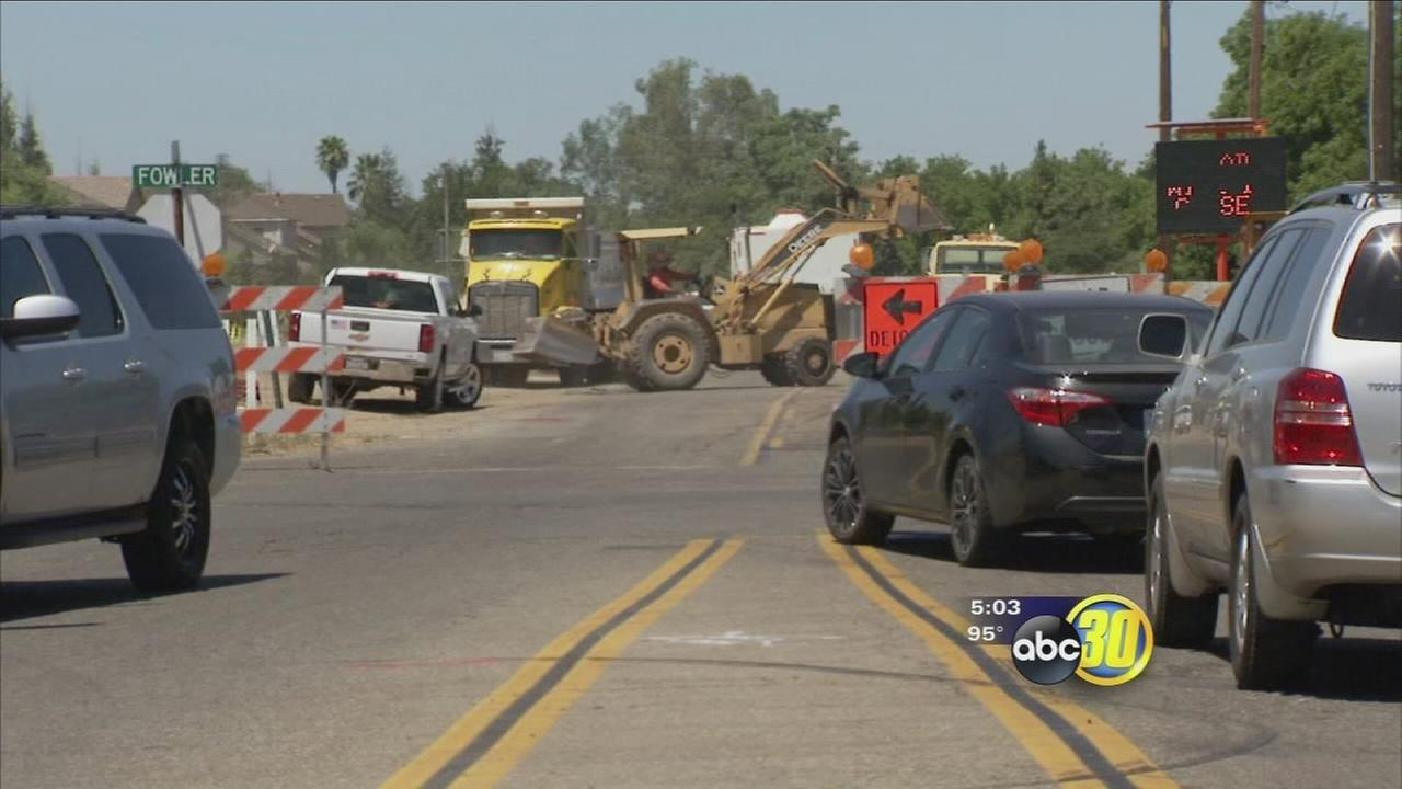 Clovis commuters will have to deal with construction at busy intersection