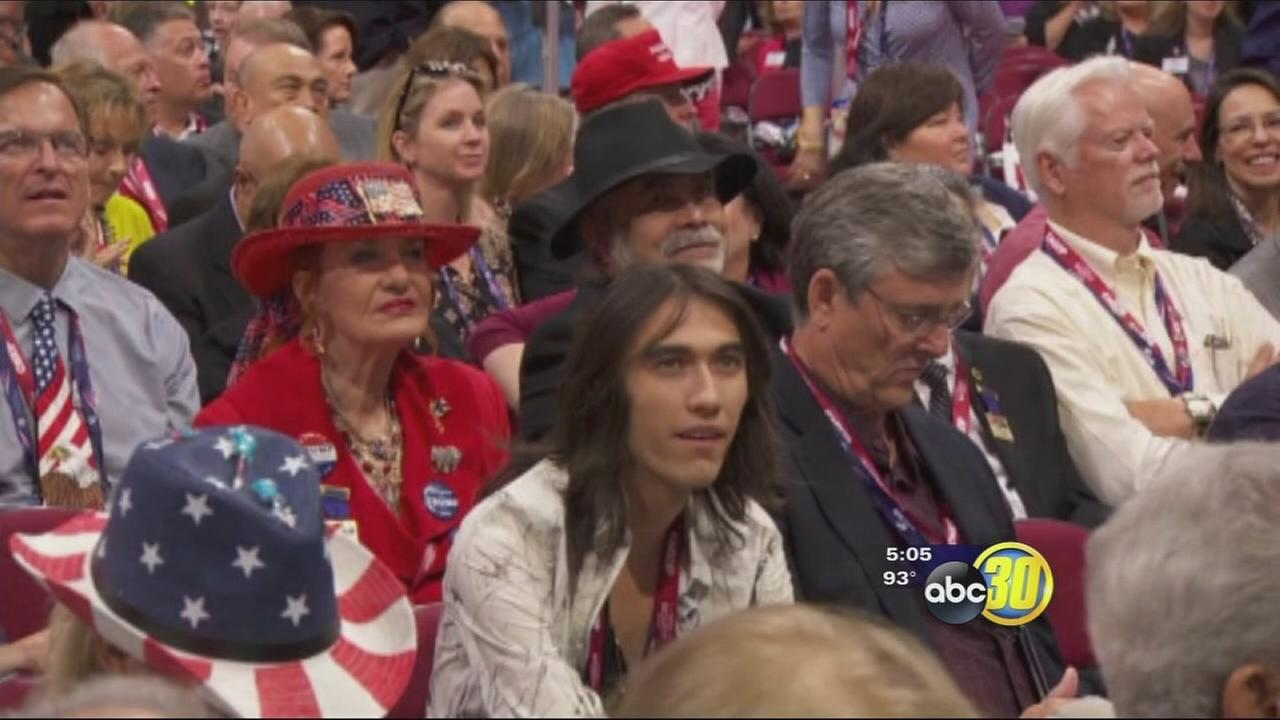 Central Valley delegates front and center at Republican National Convention