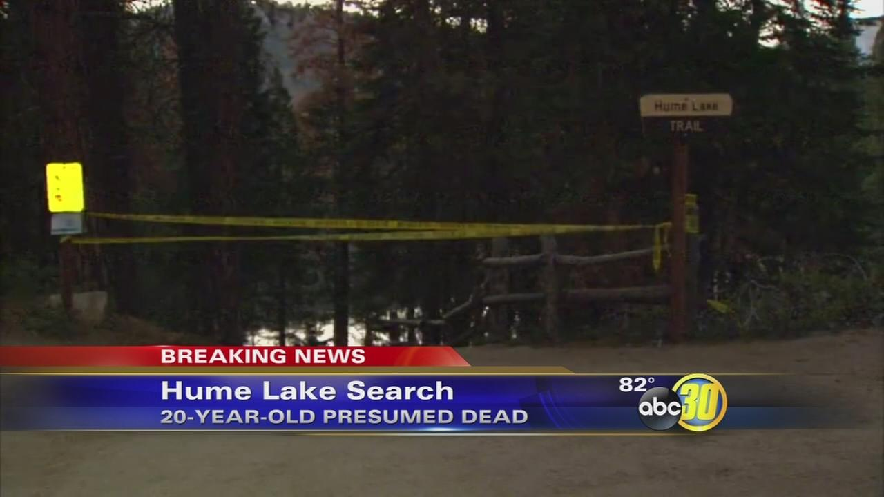 Fresno County Sheriff deputies searching for possible drowning victim at Hume Lake