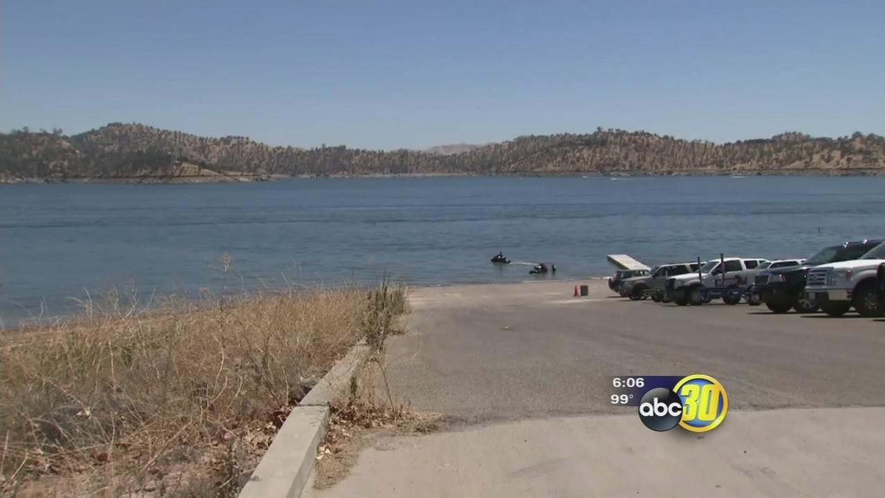 Woman hospitalized after nearly drowning in Millerton Lake