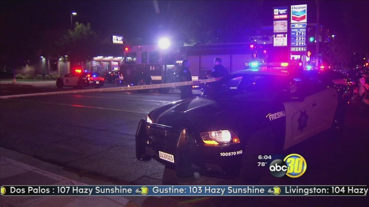 Man injured in Downtown Fresno drive by shooting
