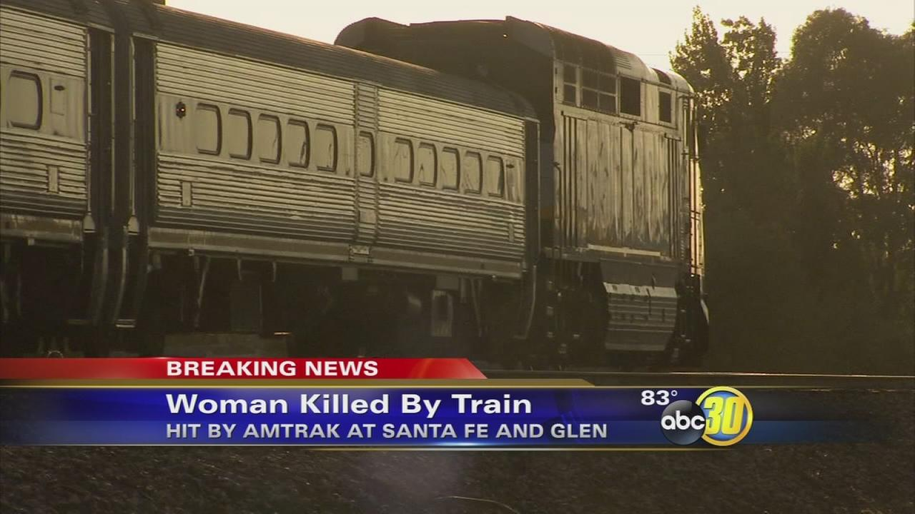 Woman hit and killed by Amtrak train in Merced