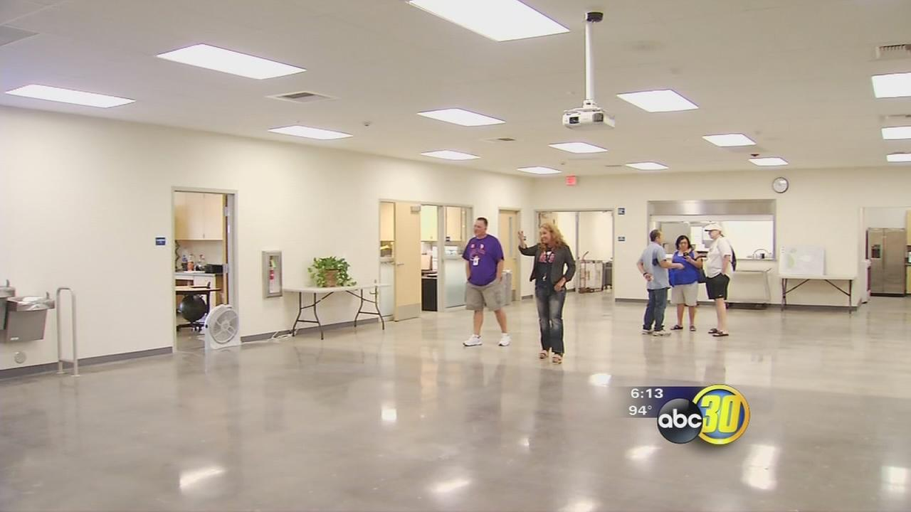 Some Fresno Unified special needs students get to start the new year in new classrooms