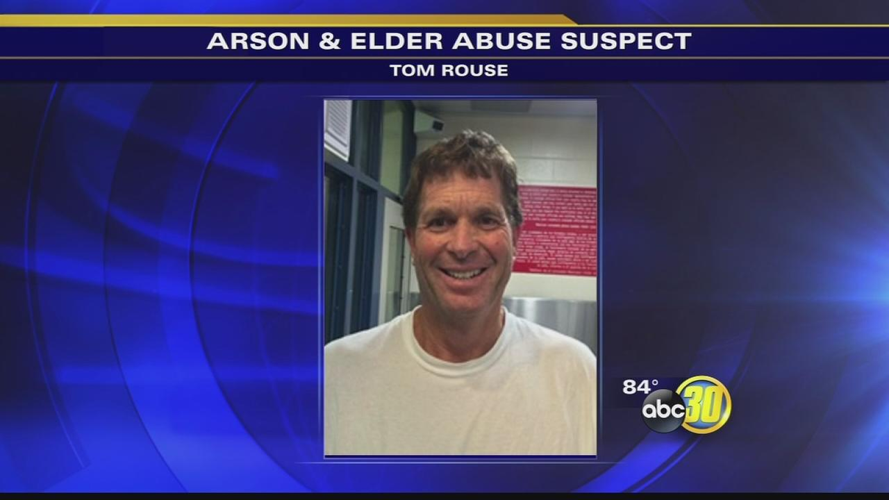 Fresno County Sheriffs office looking for man accused of arson and elder abuse