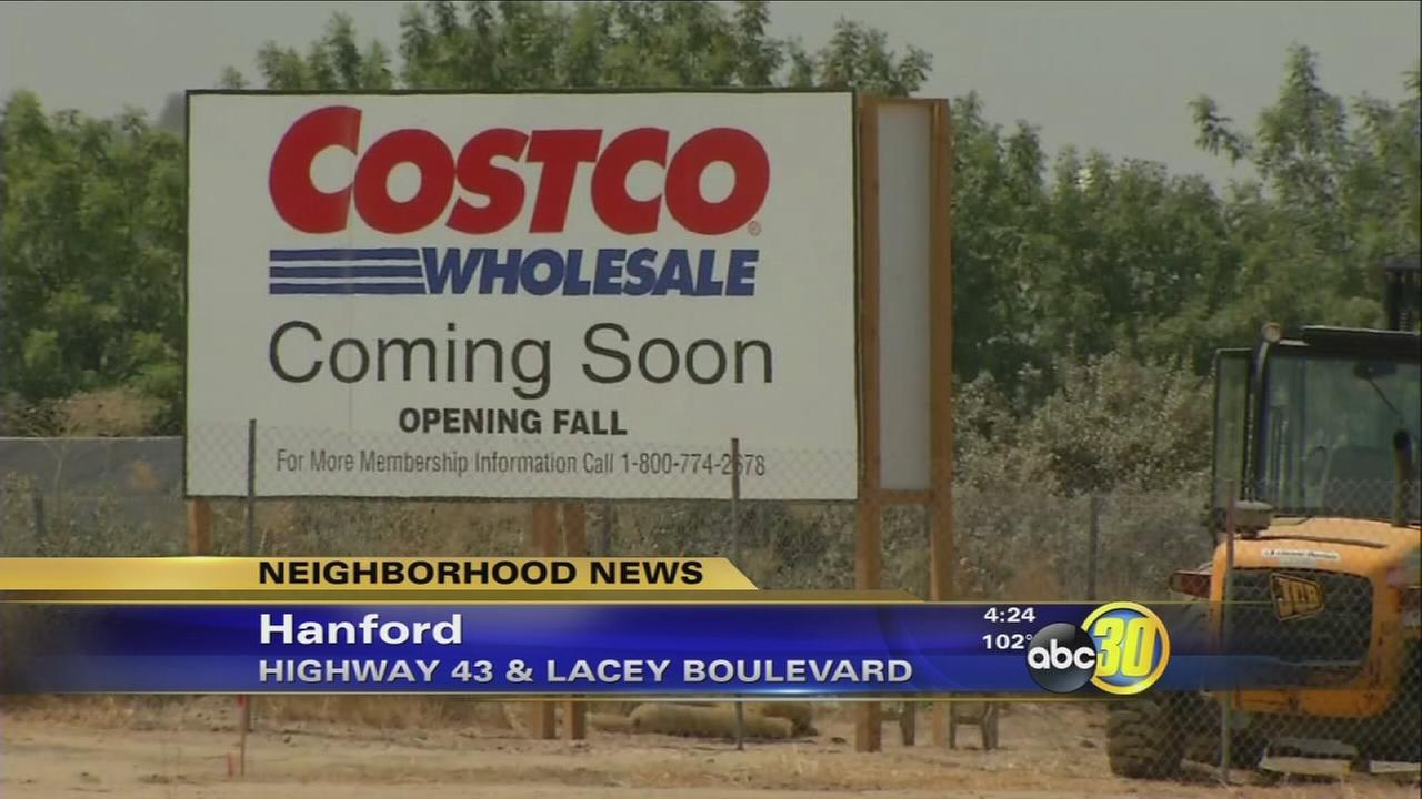 Hanford Costco currently under construction now accepting applications