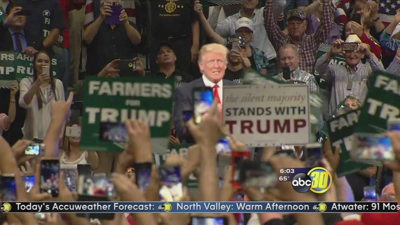 Donald Trump to hold fundraiser in Tulare