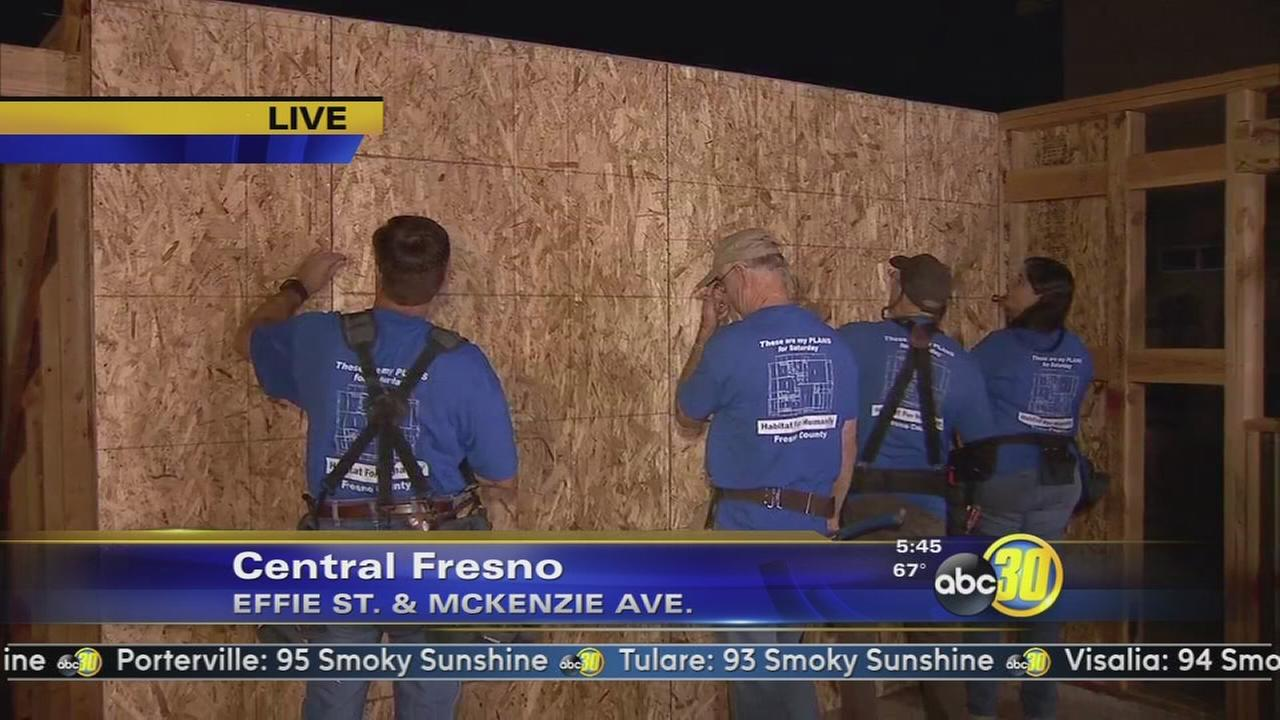 Habitat for Humanity to build their 134th house in Fresno