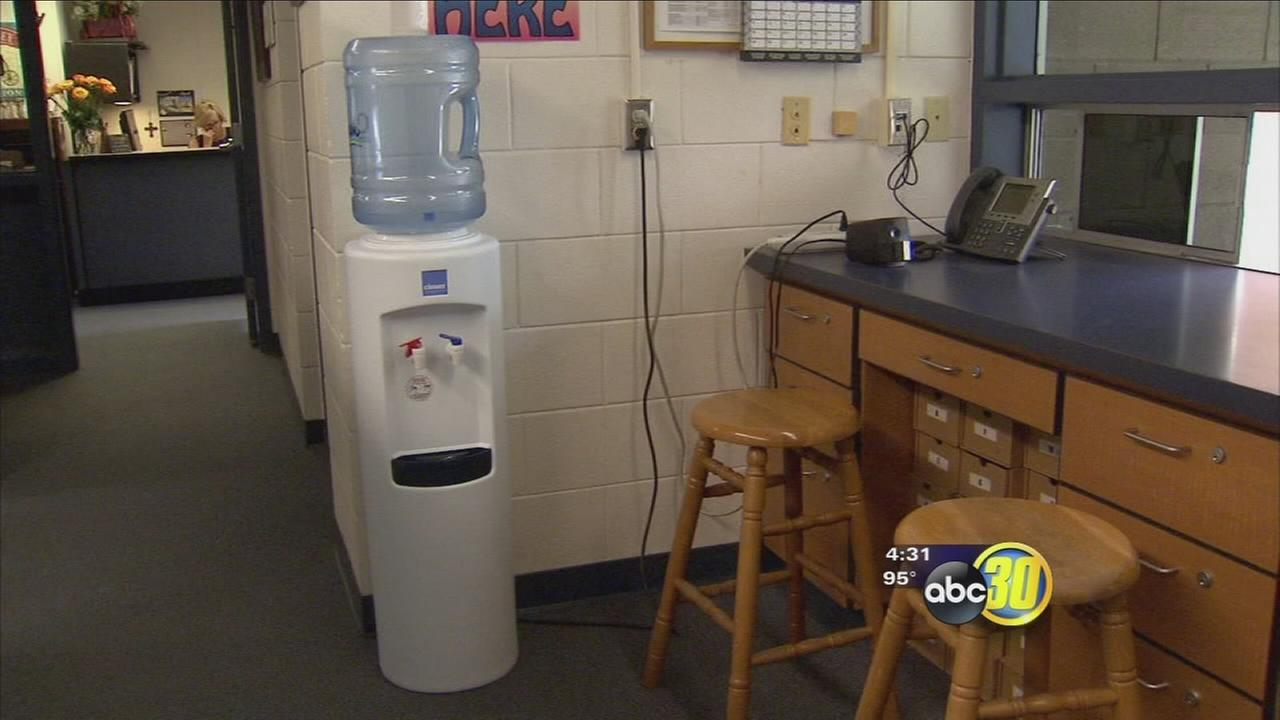 Some Fresno schools providing bottled water while water is tested for lead
