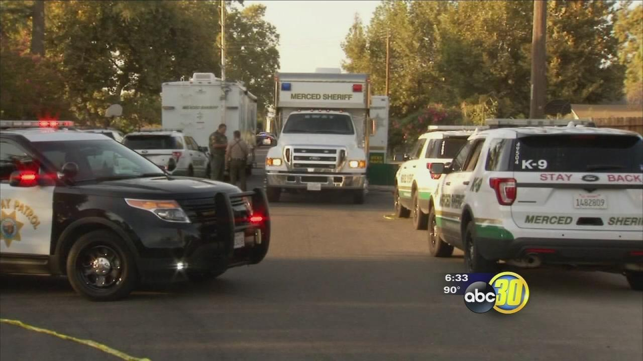 Standoff in Merced County leads to arrest of 3 suspects