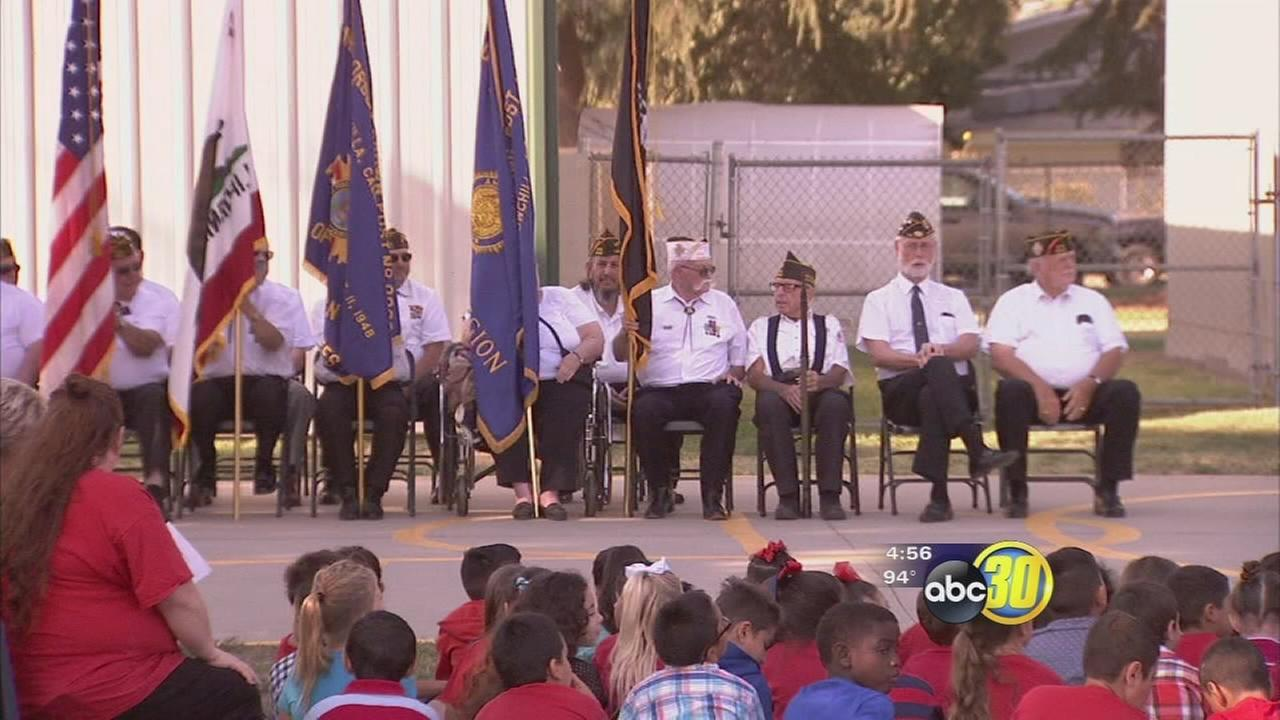 Chowchilla students get lesson about American heroes