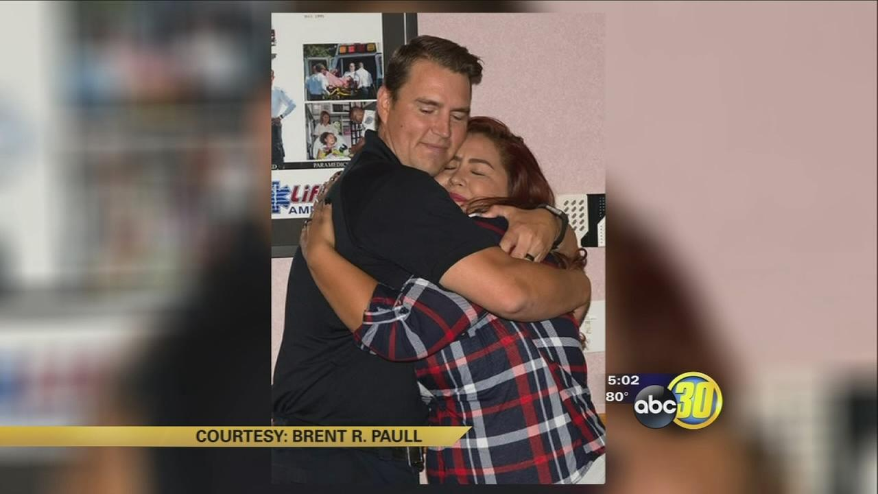 South Valley paramedic meets thankful family of patient he treated one year ago