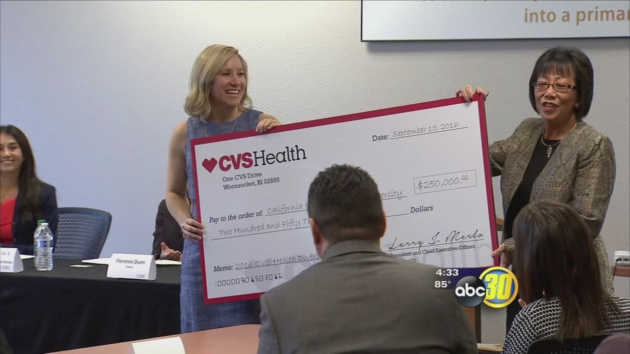 Huge grant for local school helping Hispanic students find success in pharmacy field
