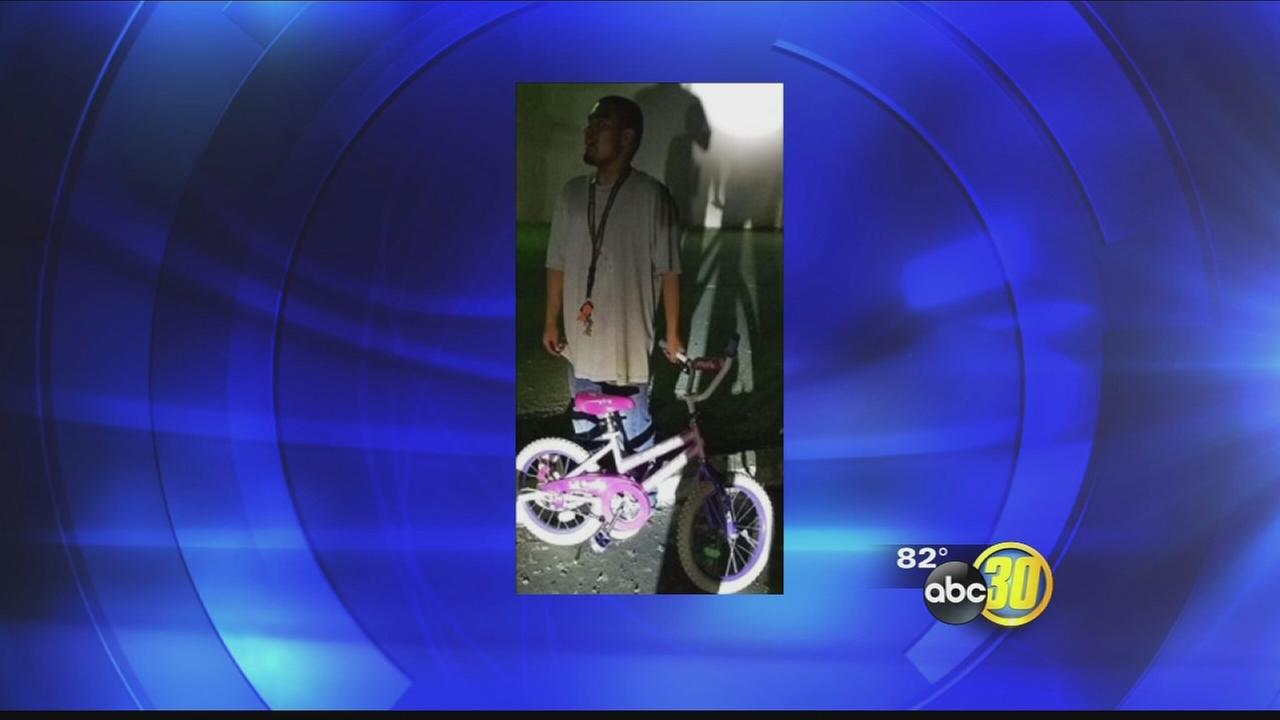 Madera man arrested for stealing little girls bike and riding it while drunk