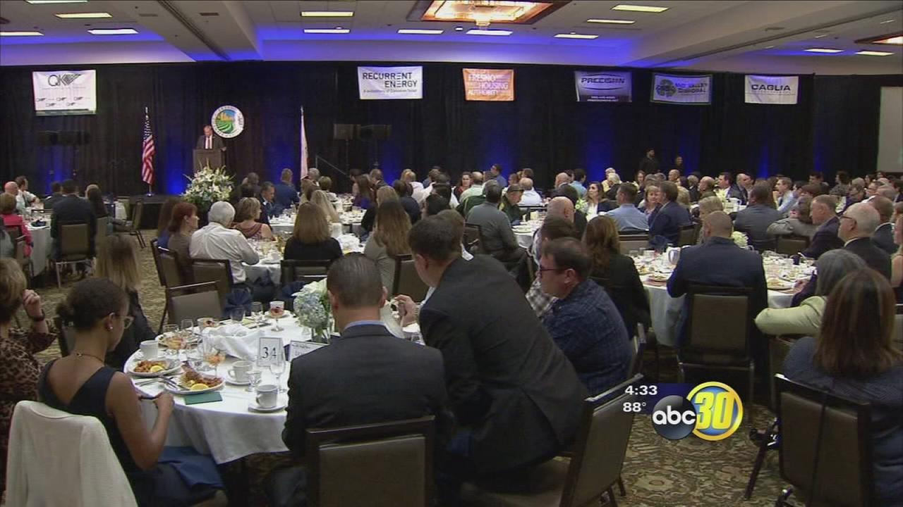 Packed house Fresno County State of the County breakfast