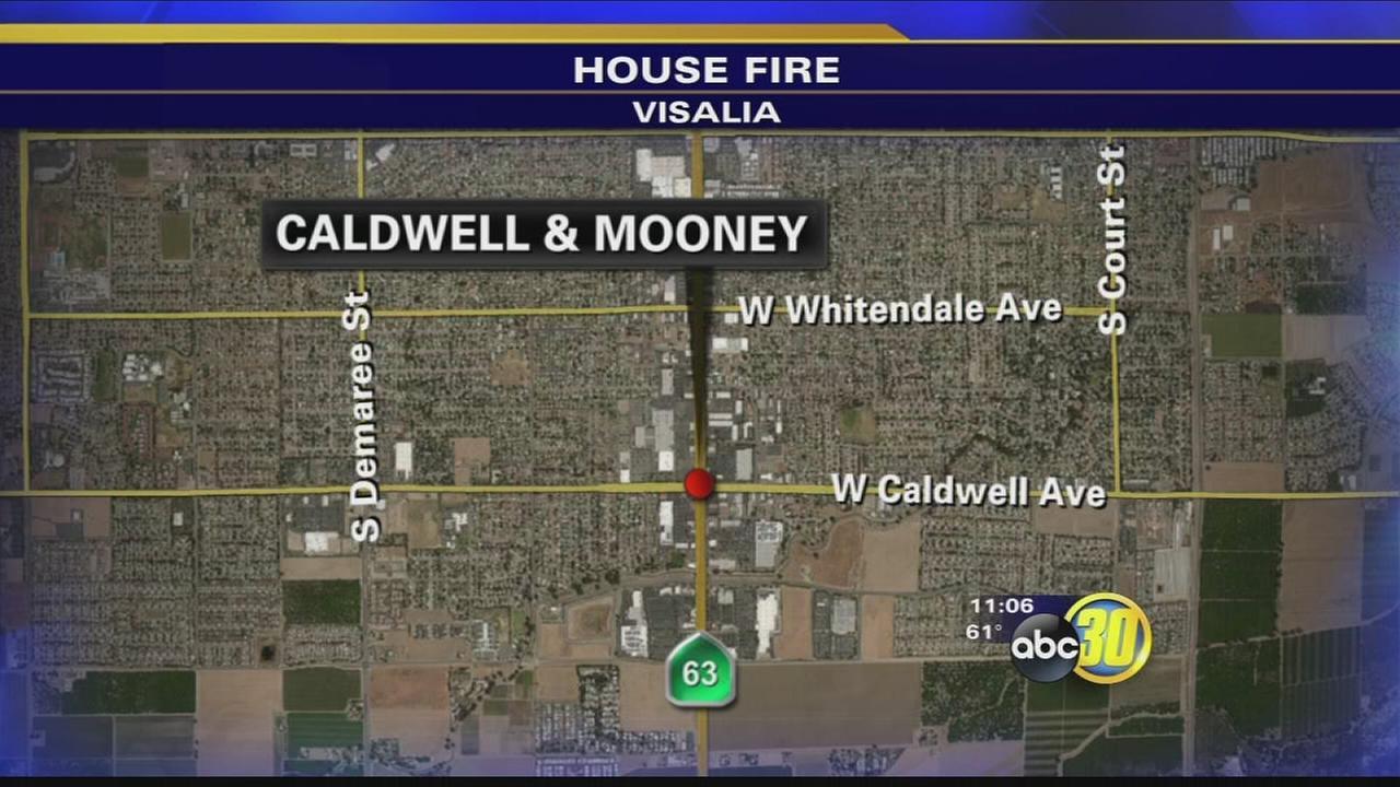 2 men accused of starting Visalia house fire